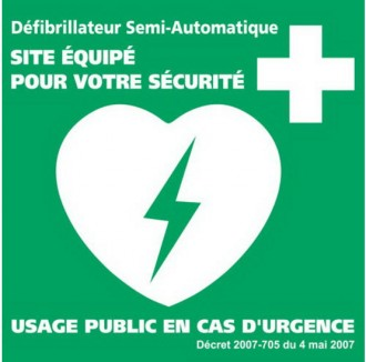 Support mural défibrillateur cardiaque - Devis sur Techni-Contact.com - 2