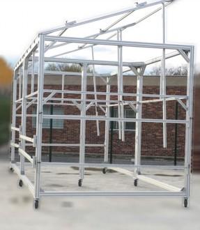 Support panneaux photovoltaïques en profilés aluminium - Devis sur Techni-Contact.com - 1