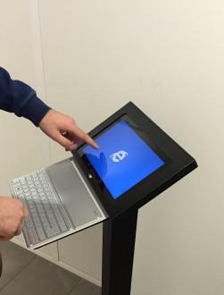 Support sécurisé tablette - Devis sur Techni-Contact.com - 2