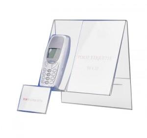 Support téléphone portable plexi - Devis sur Techni-Contact.com - 1