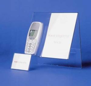 Support téléphone portable plexi - Devis sur Techni-Contact.com - 2