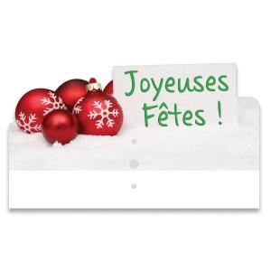 """Surmontoir étiquette """"Joyeuses Fêtes"""" - Devis sur Techni-Contact.com - 3"""