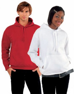 Sweat-shirt personnalisé à capuche molleton - Devis sur Techni-Contact.com - 1