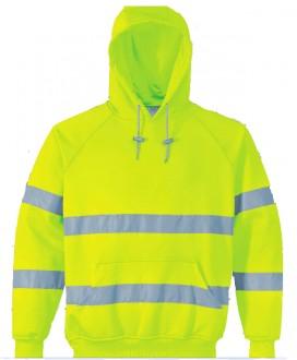 Sweatshirt haute visibilité à capuche - Devis sur Techni-Contact.com - 1