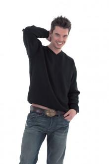 Sweatshirt personnalisé à col V - Devis sur Techni-Contact.com - 1