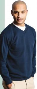Sweatshirt personnalisé à col V - Devis sur Techni-Contact.com - 2