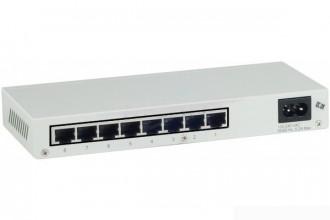 Switch 10/100 aluminium 8 port - Devis sur Techni-Contact.com - 1