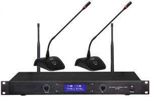 Système conférence sans fil 2/4 sorties audio - Devis sur Techni-Contact.com - 1