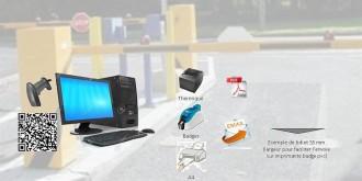 Système controle acces parking - Devis sur Techni-Contact.com - 1