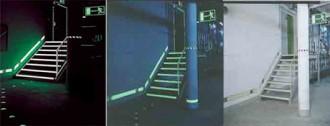 Système de marquage photoluminescent sur mur - Devis sur Techni-Contact.com - 1