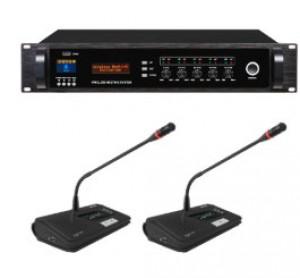 Système de micros sans-fil HF pour salle de conférence - Devis sur Techni-Contact.com - 1