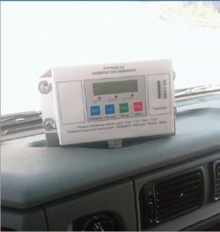 Système désinfection véhicule professionnel - Devis sur Techni-Contact.com - 1