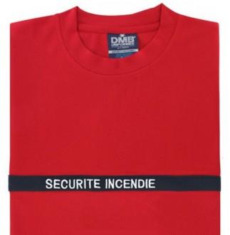 T-shirt incendie en microfibre - Devis sur Techni-Contact.com - 1
