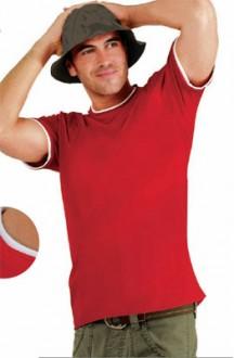 T-shirt personnalisé manches courtes homme jersey - Devis sur Techni-Contact.com - 1