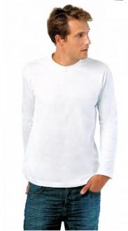 T-shirt personnalisé manches longues unisexe jersey - Devis sur Techni-Contact.com - 1