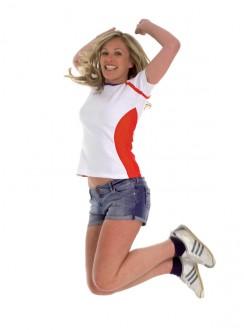 T-shirt personnalisé sport pour femme - Devis sur Techni-Contact.com - 1