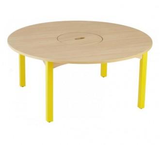 Table à bac central - Devis sur Techni-Contact.com - 2