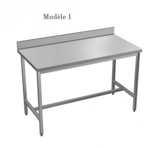 Table à dosseret sur mesure - Devis sur Techni-Contact.com - 1