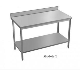 Table à dosseret sur mesure - Devis sur Techni-Contact.com - 2