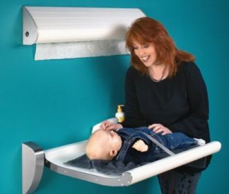 Table à langer avec ou sans ceinture de sécurité - Devis sur Techni-Contact.com - 1