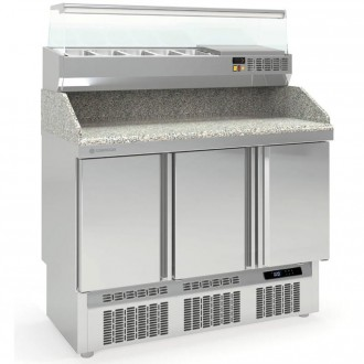 Table à pizza compacte - Devis sur Techni-Contact.com - 1