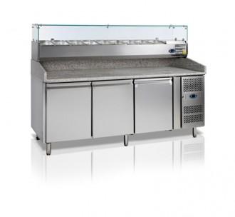 Table à pizza réfrigérée 580 Litres - Devis sur Techni-Contact.com - 1