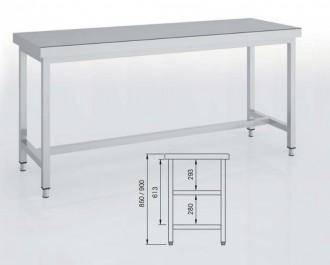 Table adossée - Devis sur Techni-Contact.com - 1