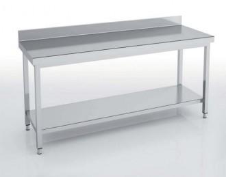 Table adossée avec étagère - Devis sur Techni-Contact.com - 1