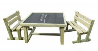 Table ardoise d'extérieur pour enfants - Devis sur Techni-Contact.com - 2