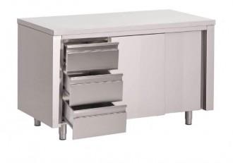 Table armoire en inox - Devis sur Techni-Contact.com - 1