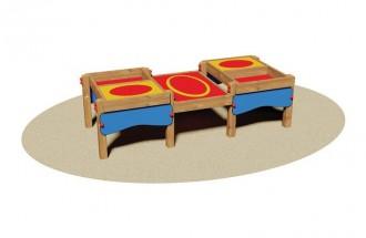 Table avec bacs à sable pour enfants - Devis sur Techni-Contact.com - 1