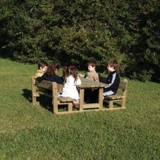 Table avec bancs pour enfants - Devis sur Techni-Contact.com - 1