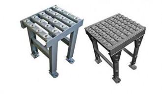 Table avec plaques à billes - Devis sur Techni-Contact.com - 1