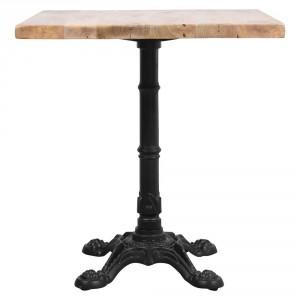 Table avec plateau en bois pour restaurant - Devis sur Techni-Contact.com - 1