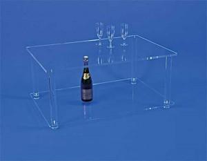 Table basse en plexiglas cristal épais - Devis sur Techni-Contact.com - 2