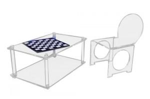 Table basse en plexiglas cristal épais - Devis sur Techni-Contact.com - 4