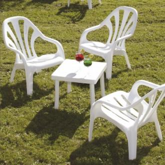 Table basse plastique de terrasse RODI - Devis sur Techni-Contact.com - 1