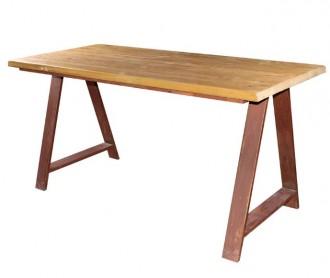 Table bois style industriel - Devis sur Techni-Contact.com - 2