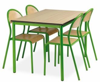Table cantine fixe - Devis sur Techni-Contact.com - 3