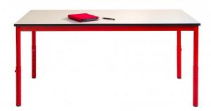 Table cantine réglable pour scolaire - Devis sur Techni-Contact.com - 1