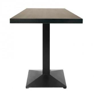 Table carré en bois plaqué pour restaurant - Devis sur Techni-Contact.com - 1