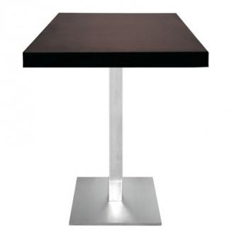 Table carrée en bois 55x55 - Devis sur Techni-Contact.com - 1
