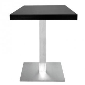 Table carrée en bois mélaminé - Devis sur Techni-Contact.com - 1