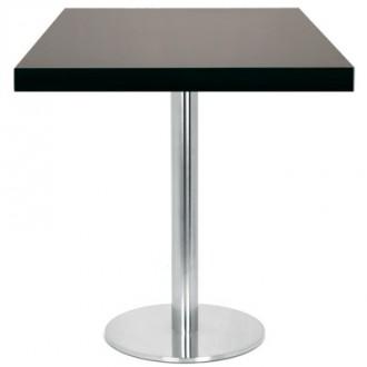 Table carrée en bois placage 60x60 cm - Devis sur Techni-Contact.com - 1