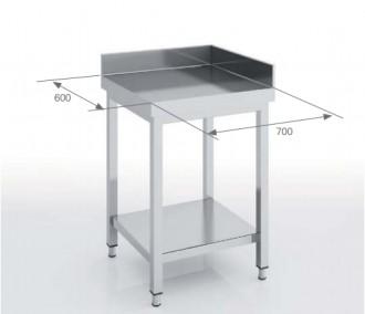 Table d'angle inox - Devis sur Techni-Contact.com - 1