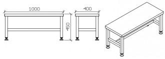 Table d'atelier en inox - Devis sur Techni-Contact.com - 3