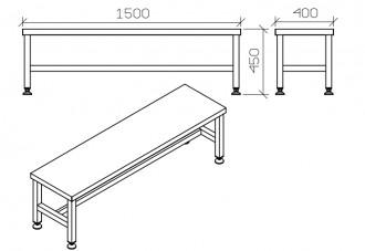 Table d'atelier en inox - Devis sur Techni-Contact.com - 4
