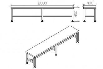 Table d'atelier en inox - Devis sur Techni-Contact.com - 5