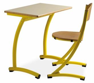 Table d'école fixe - Devis sur Techni-Contact.com - 2