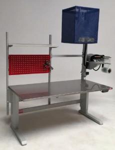 Table d'emballage avec système de calage - Devis sur Techni-Contact.com - 2